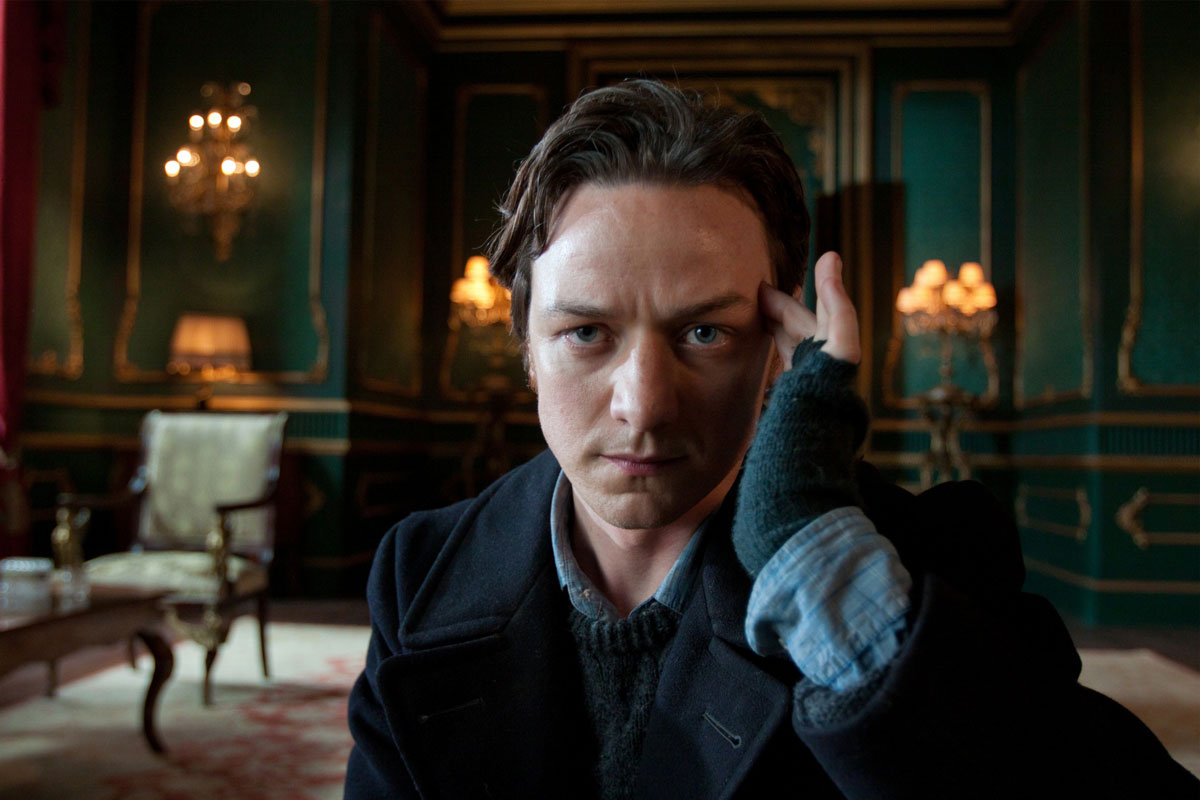 James McAvoy as the charming